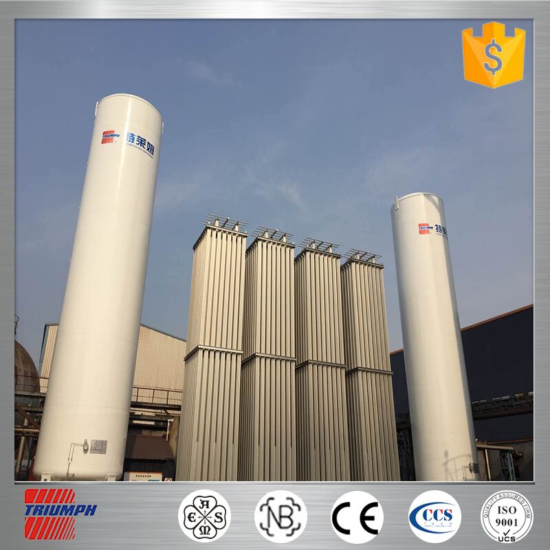 stainless steel vertical/horizontal chemical cryogenic storage vertical horizontal liquid nitrogen oxygen argon tank