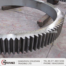 Forged Custom Mechanical Flywheel Ring Gear for Ball Mill Cement Mill Coal Mill