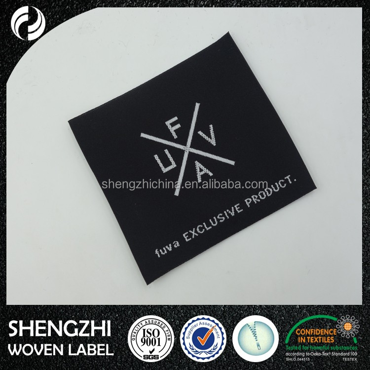 RFID tag clothing woven label