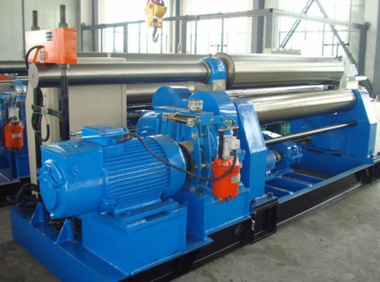 W11 mechanical symmetry type thress roller bending machine from China factory