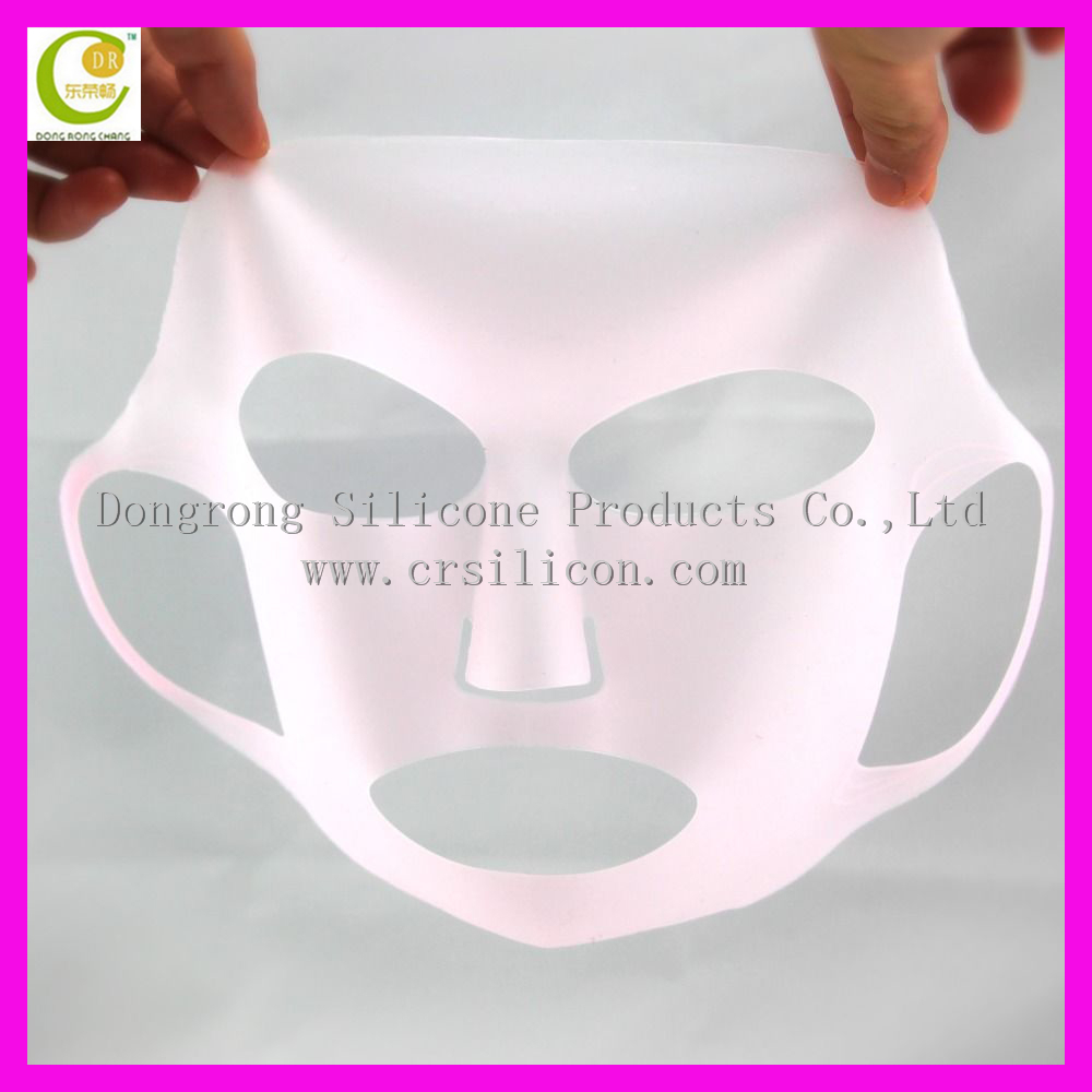 Lady Reusable silicone peel off face mask/ Silicone skin care mask / silicone female facial mask
