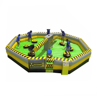 NEVERLAND TOYS Hot Game Meltdown Wipeout Course Ultimate Wipe Out Inflatable Game