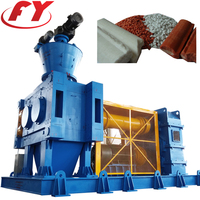 Industrial chemical mineral inorganic fertilizer powder auger precompression dry double roller compacting limestone granulator