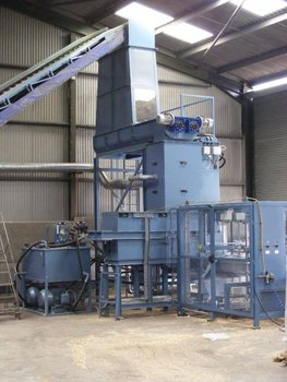 WOOD SHAVINGS BALER