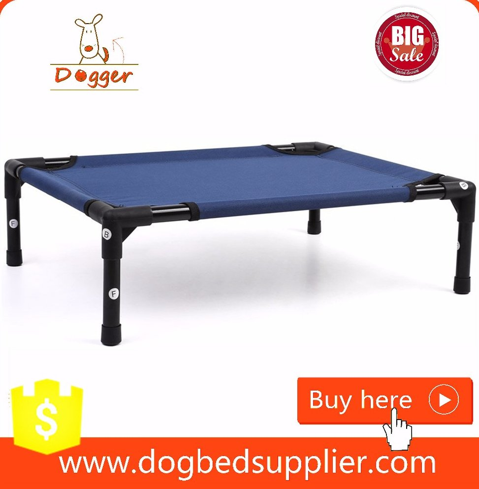 raised dog bed large/elevated dog bed made in china/waterproof outdoor dog bed