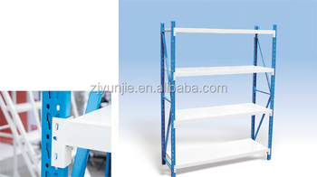 Light Duty Metal Rack Warehouse Storage Shelving For Hardware And Factory