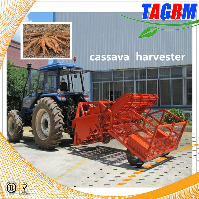 38CM working depth cassava harvester / tuber crops harvest machine cassava harvesting tools