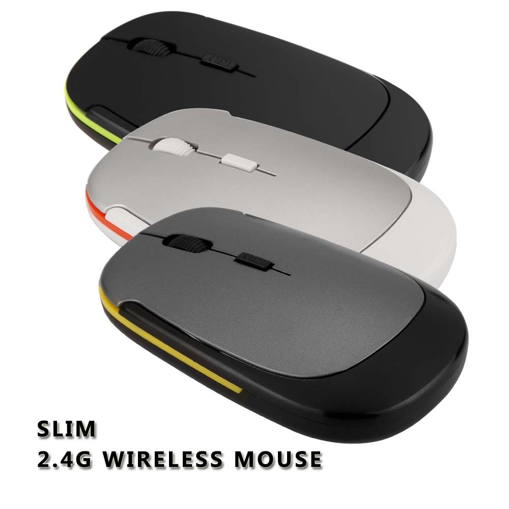 2.4G Mini USB Wireless Optical Mouse cute mouse for Christmas gift