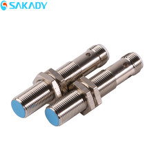 M12 2mm Shielded PNP Normally Closed Industrial Automation Device 12V DC Inductive Proximity Switch Sensor