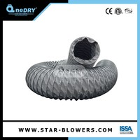 Retractable Flexible Air Duct Ducting Canvas