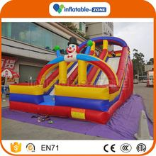 Best quality free time fun inflatable water slide spongebob inflatable bouncer slide