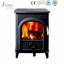 Hiflame EPA HF905U 84.3% Efficiency antique freestanding cast iron stove door small wood burning stove