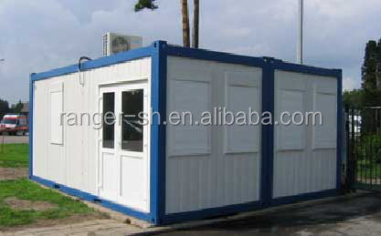 Shanghai beautiful ready made plat packing container house for sale
