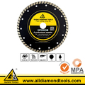 Diamond Hot Press Turbo Blade for Cutting Marble