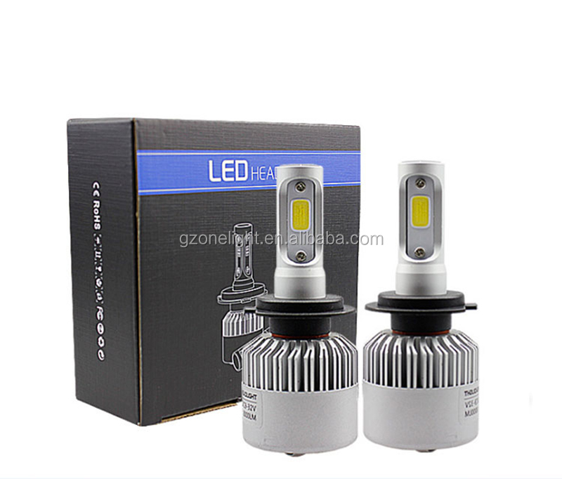 Super Bright H1 Auto Bulbs S2 Car LED Headlight with long lifetime