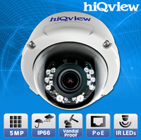 HIQ-5550 Megapixel Outdoor Waterproof Dome IP Camera