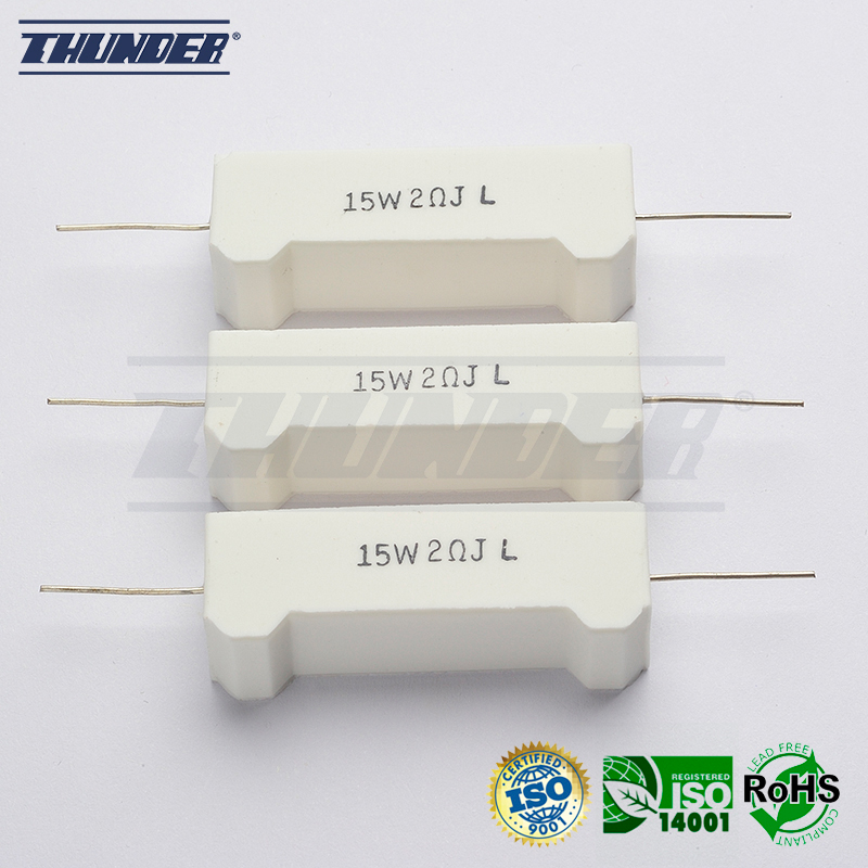 TC3026 Wire Wound Cement Resistors SQT Type for Power Supplies