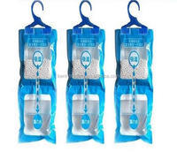 Wholesale Lemon Smell Air Freshener Hanger Dehumidifier Bag For Clothing
