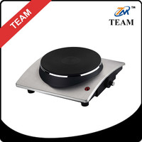 single stainless steel hot plate 1500w