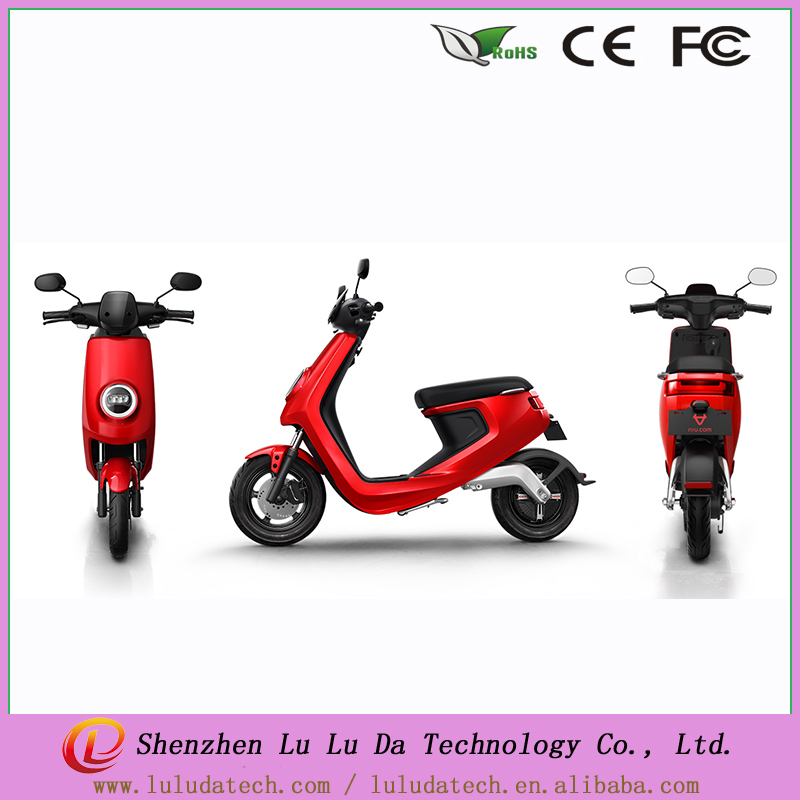 NIU 800W mini electric motorcycles 48V 26AH electric scooter with certificate