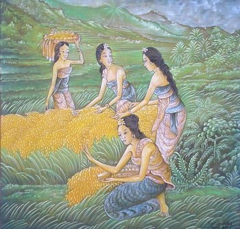 Traditional School Balinese Paintings