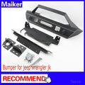 new type car bumper for Jeep Wrangler JK 2007+ front bumper 4*4 accessories from Maiker