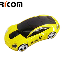 novelty cordless car mouse,computer mouse car shaped,2.4ghz wireless fashionable car mouse