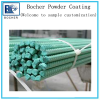 electrostatic polyester polyester powder coating for rebar