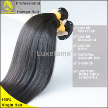 Luxefame Hair Non Processed Full Cuticle Top Grade Clip Hair Extension