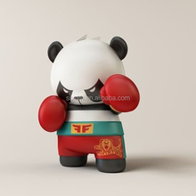 cute panda 6 inch pop vinyl,custom made vinyl figure toys,make your own design action figures Toy factory