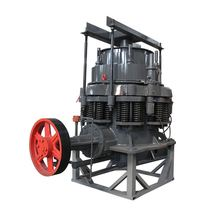 Ac motor hard stone mobile cone crusher with new technology