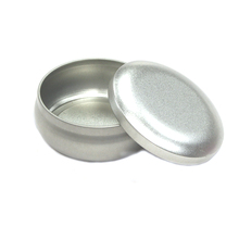 Hot Sale Round Plain Mint Metal Tin Boxes