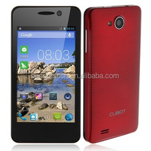 4.0 Inch CUBOT GT90 MTK6572W Dual Core 1.3GHz 512MB RAM 4GB ROM 3G Smart Phone Dual SIMs GPS WIFI FM cellphones