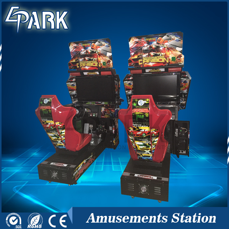 Coin Operated Arcade Car Racing Game Machine Need For Speed Motor Game