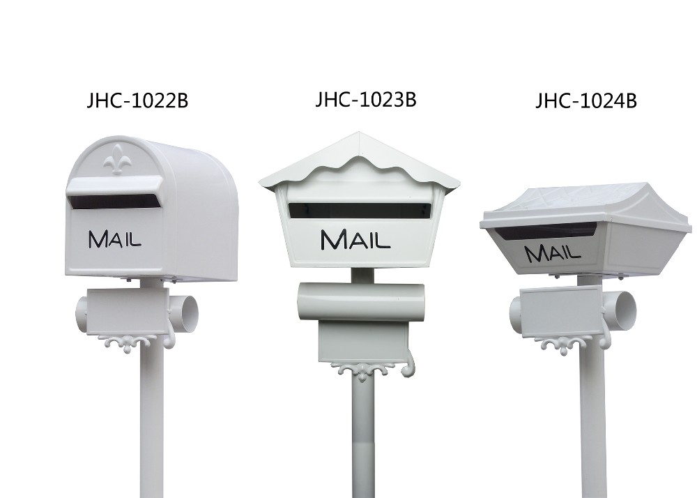 newspaper delivery box,free standing locking mailbox
