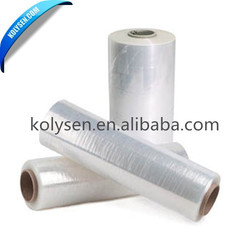 China factory 5-layer center fold cross linked pof thermal / heat shrink film
