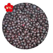 Market Price Laser Screen Sorted IQF frozen blueberry