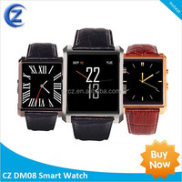 2015 New Arrive smart watch Bluetooth DM08 watches for Samsung Galaxy S3 S4 S5/Note 2/Note 3 HTC Android Phone