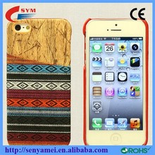 New arrival wholesale for iphone 6 case,for iphone 6 wood case,PC wood cases for iphone 6 with card slots at back