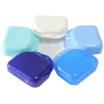 Plastic Dental Storage Retainer Case For Orthodontic Use