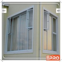 AS2047 Australia standard latest window designs with chain winder in white