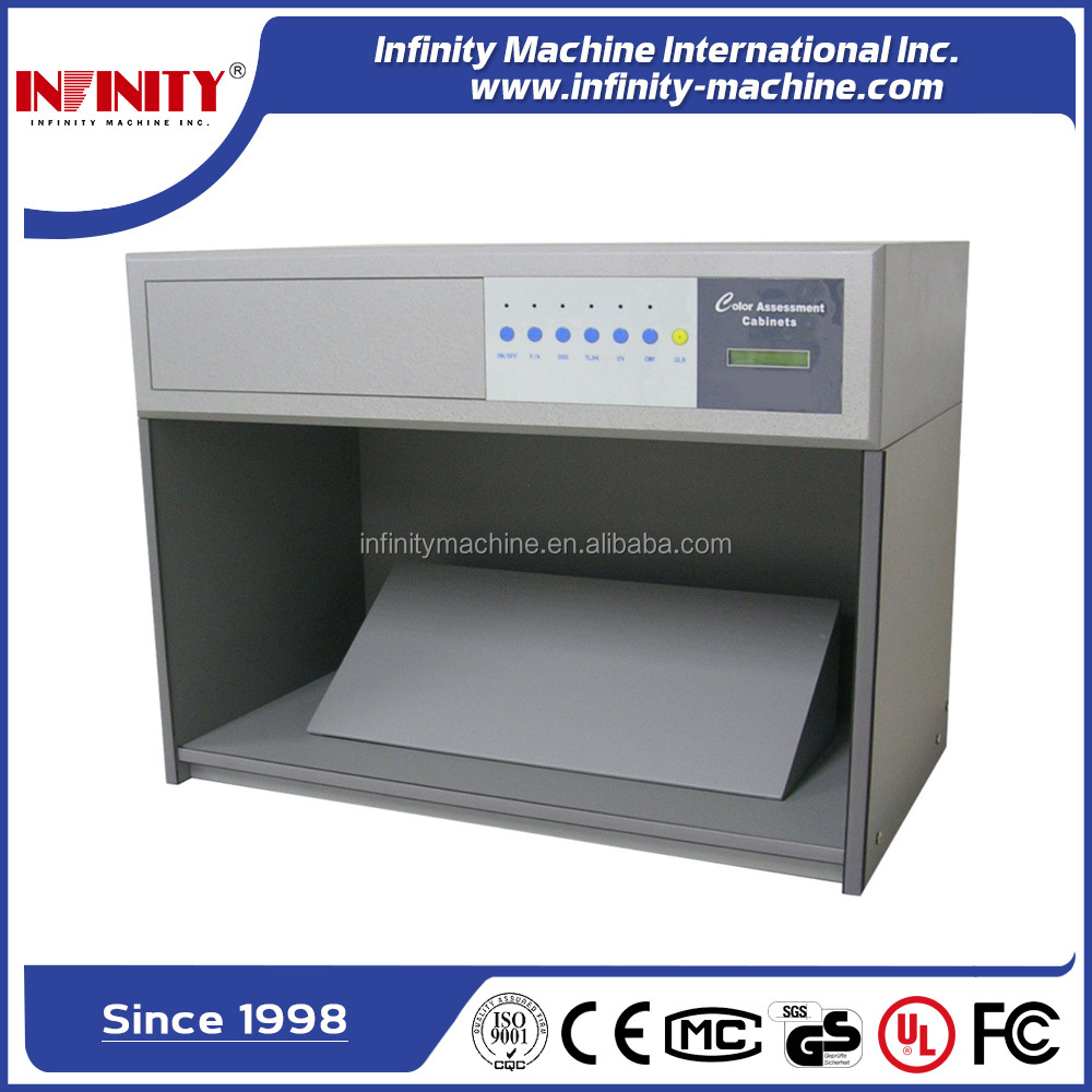 cotton textile Color Matching Cabinet