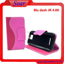 for blu dash jr 4.0K d143K S Patten Wallet Leather Case, Flip Case for blu dash jr 4.0K d143K