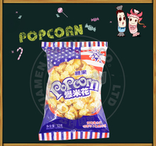 Flavored Microwave Popcorn