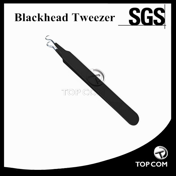 Stainless Steel Pimple Remover Blackhead Extractor Beauty Tool Tweezers