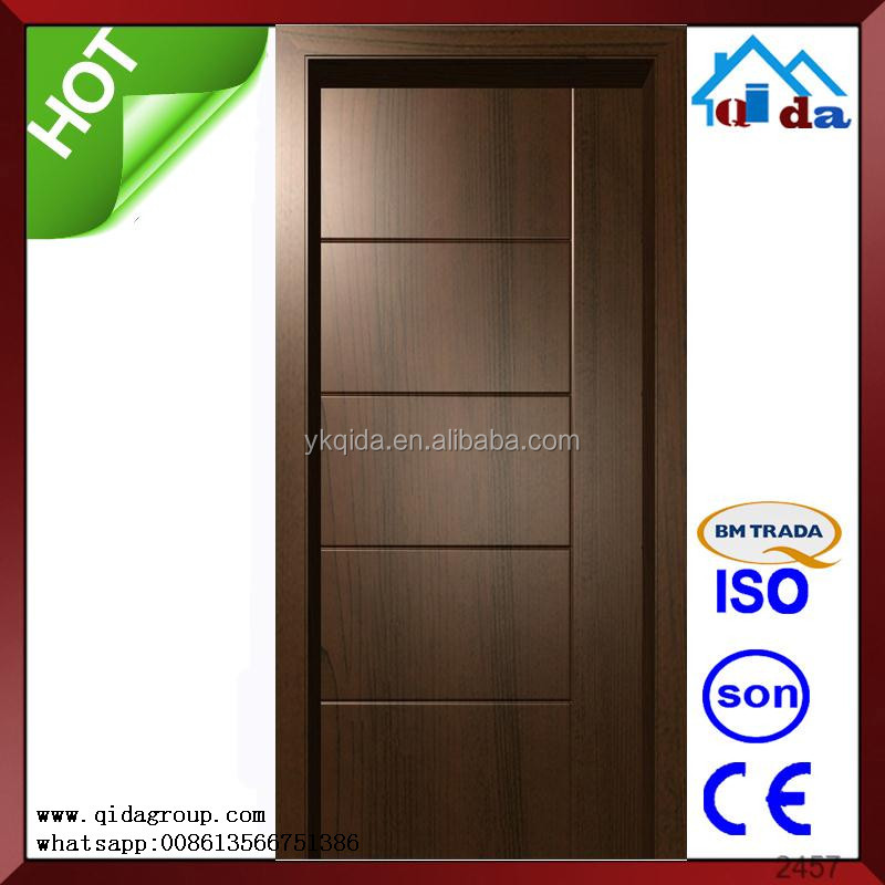 Interior wooden indian modern simple door designs