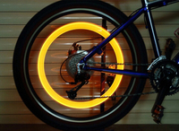 2 PCS colorful LED Flash Tyre Wheel Valve Cap Light for Car Bike bicycle Motorbicycle Wheel