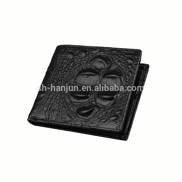 New Arrival High Quality Men Crocodile Leather Wallet