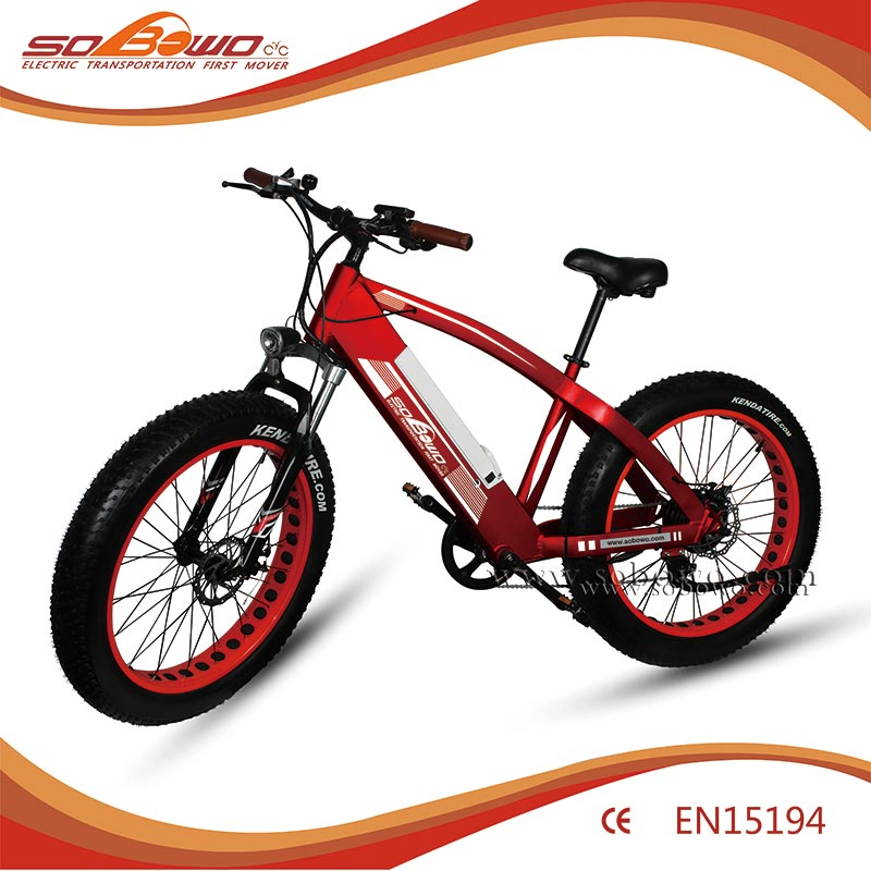 Sobowo 26 inch bulk cheap green city electric bike 1000w electric bicycle