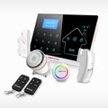 433mhz/868mhz GSM and PSTN dual-network Economic Touch Keypad Lcd gsm home automation system(YL-007M2-1)